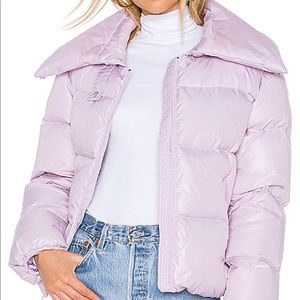 Kendall and Kylie light Purple Puffer Coat